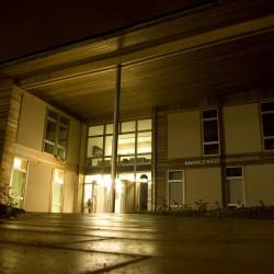 KWMC Building, Night