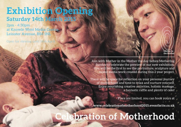 Mother in the Mother Exhibition Flyer