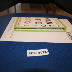 Reserved for special guests