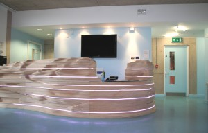 Reception area of Knowle West Media Centre