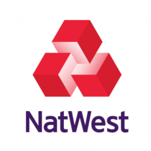 NatWest Logo Red, Pink and Purple
