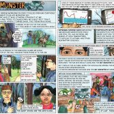 Thumbnail version of the Sky Monster comic downloadable resource