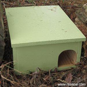 Hedgehog House design